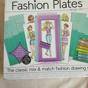 Other - Fashion plates craft kit